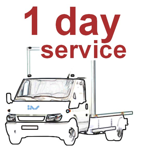 One Day (24 Hour) Rush Service Items