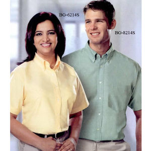 Promotional Button Down Shirts-BG-8214S
