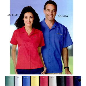 Promotional Button Down Shirts-BG-3100