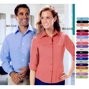 Promotional Button Down Shirts-BG-6218