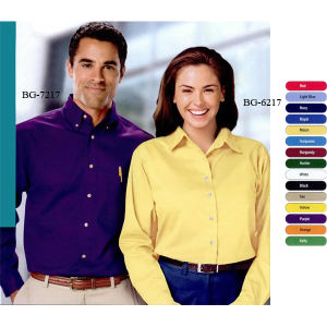 Promotional Button Down Shirts-BG-6217