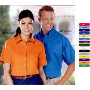 Promotional Button Down Shirts-BG-7217S