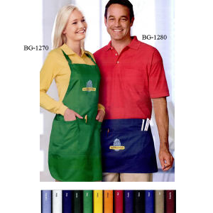 Unisex waist apron-65/35 poly/cotton