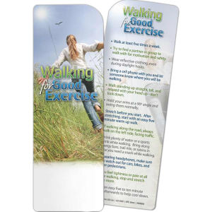 Bookmark - Walking for
