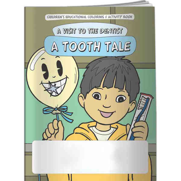 Coloring Book - Tooth