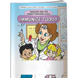 Coloring Book - Immunize