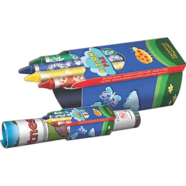Action Pak™ - Crayons
