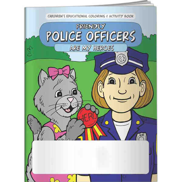 Coloring Book - Police