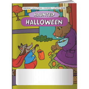 Coloring Book - Haunted
