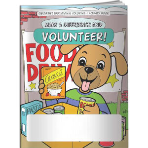 Coloring Book - Volunteer