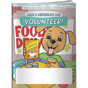 Coloring Book - Volunteer