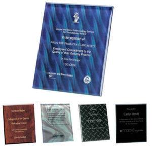 Trillinnium Award Plaque -