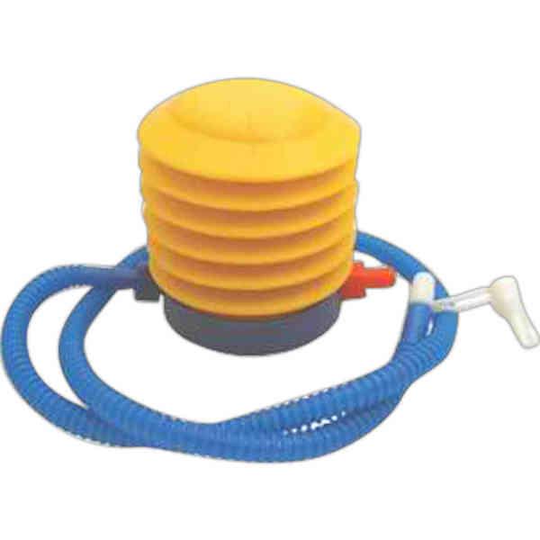 Foot pump air inflator.