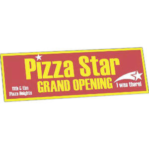 Promotional Bumper Stickers-416