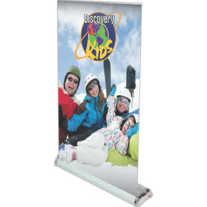 Retractable Tabletop Vinyl Banner
