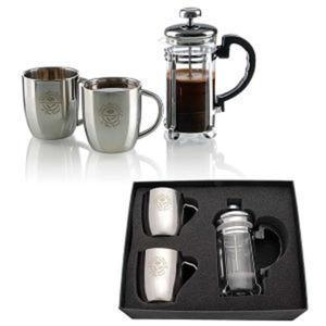 Personal espresso set.
