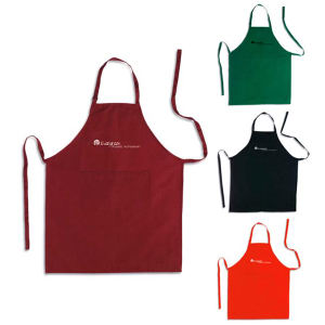 Apron with pocket and