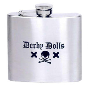 Stainless steel liquor flask,