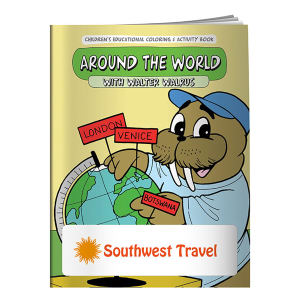 Promotional Coloring Books-40658