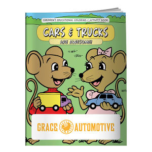 Promotional Coloring Books-40661