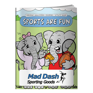 Promotional Coloring Books-40675