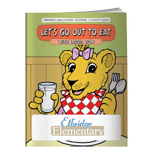 Promotional Coloring Books-40680