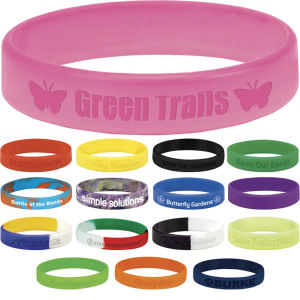 Silicone Awareness Bracelet -