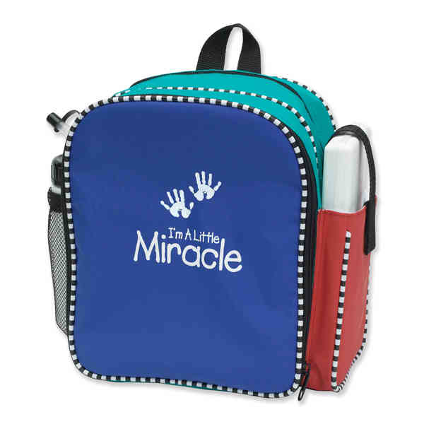 Compact diaper bag with