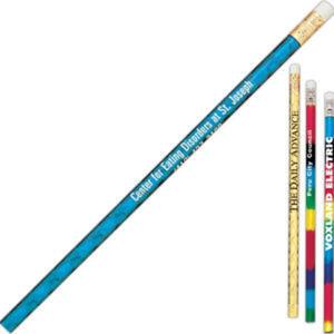 Glitz foil pencil with
