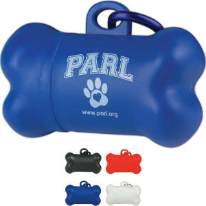 Dog pickup bag dispenser