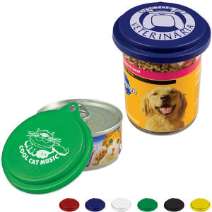 Pet food can lid.