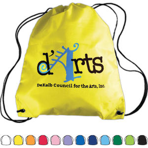 Drawstring back pack bag