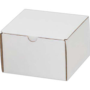 B-flute corrugated tuck box,