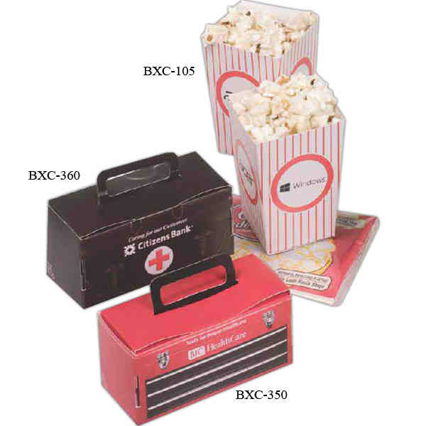 Two Mini Popcorn Boxes