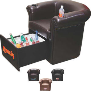 Sports chair with armrest