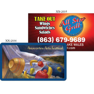 Promotional Business Card Magnets-