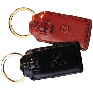 Promotional Leather Key Tags-LG-9080