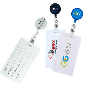 Promotional Retractable Badge Holders-PL-8932