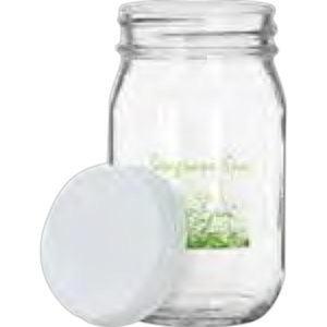 16 oz. Clear glass