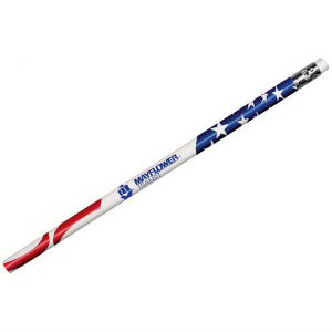 Patriotic pencil with a