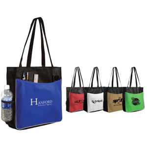 Non-woven business tote bag.