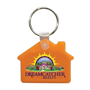 Soft key fob, house