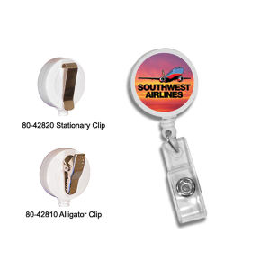 Promotional Retractable Badge Holders-80-42820