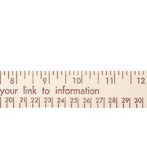 Promotional Rulers/Yardsticks, Measuring-90512