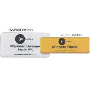 Promotional Name Badges-BG-DIGILINE15X