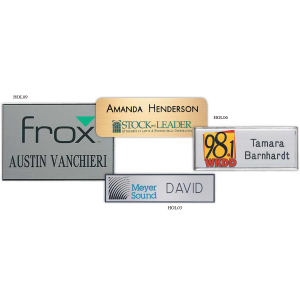 Promotional Name Badges-HOL03
