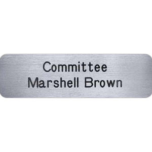 Promotional Name Badges-LA03P