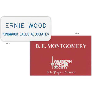 Promotional Name Badges-LA09P