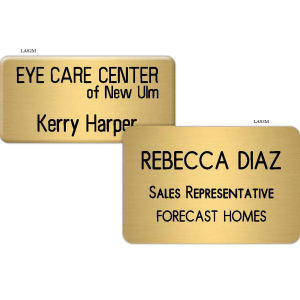 Promotional Name Badges-LAS3M