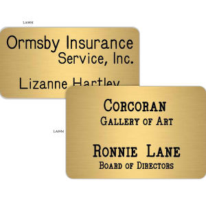Promotional Name Badges-LA09M